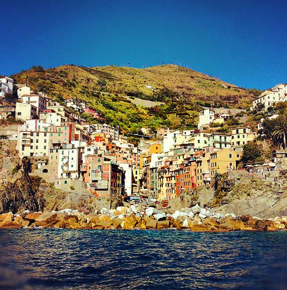 in the pursuit of | Riomaggiore