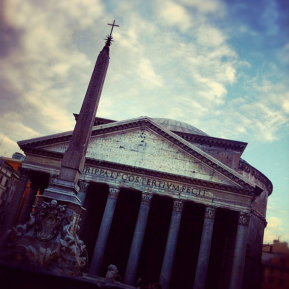 in the pursuit of | The Roman Pantheon