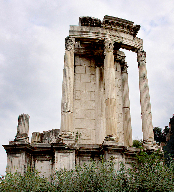 in the pursuit of | The Temple of Vesta