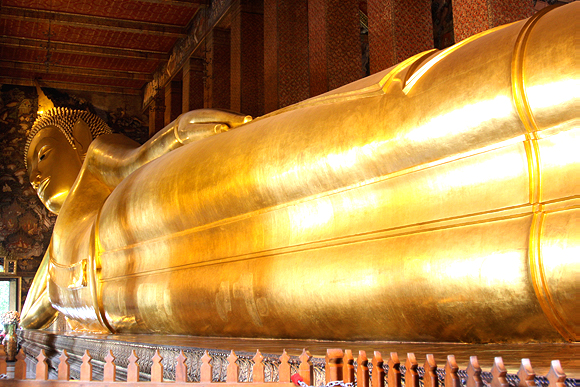 in the pursuit of | Temple of the Reclining Buddha