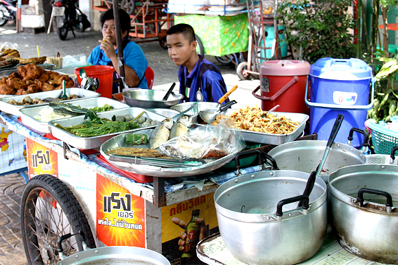 in the pursuit of | Bangkok markets